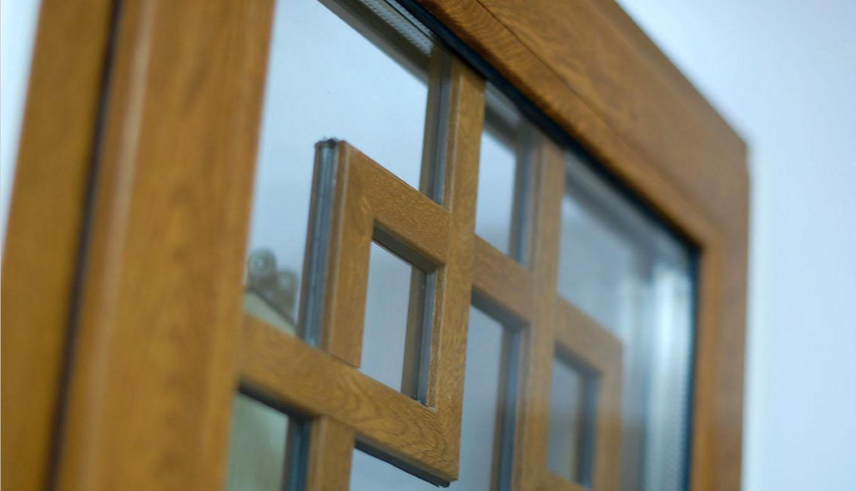 окна с фальш-переплётом